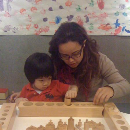 Preschool student